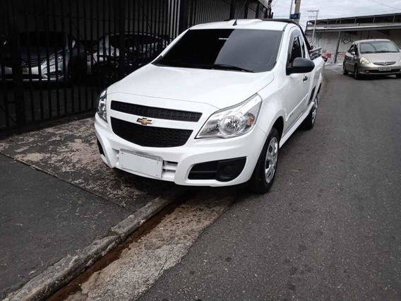 Chevrolet Montana Ls 1.4 Flex 2018 Branco Completa