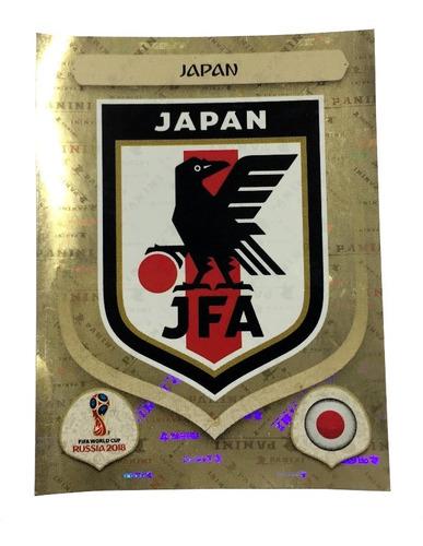 Imagem 1 de 1 de Figurinha  652  Japao Escudo Copa 2018