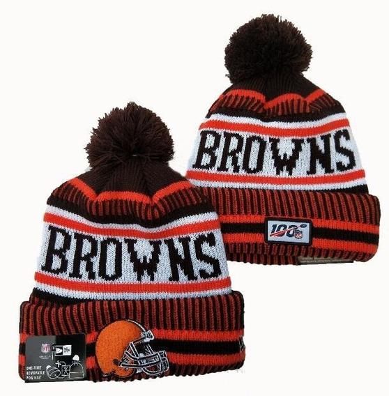 Touca Gorro Cleveland Browns Sideline New Era Oficial