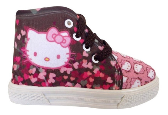 Tenis Bota De Kitty
