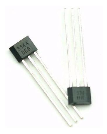 100x Sensor De Efeito Hall - A3144 - A3144e - Frete Gratis