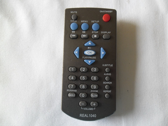 Controle Remoto Novo Para Dvd Lenox Real 1040