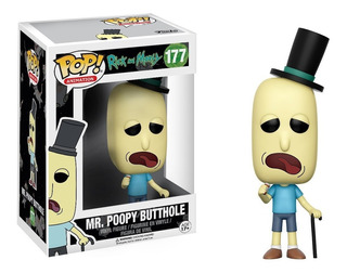 Funko Pop Animation Rick And Morty Mr. Poopy Butthole