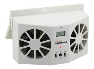 Ventilador Solar Para Auto Recargable
