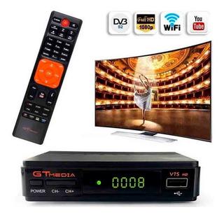 Decodificador Tv Satelital Gtmedia Freesat V7s Full Hd 1080p