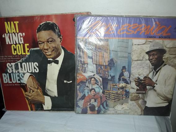 Lote 2 Lps King Cole Em Espanhol / St. Louis Blues
