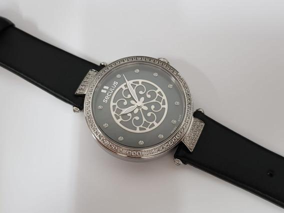 Relógio Feminino Seculus 1708lbssstc Swiss Made
