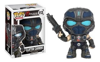 Funko Pop - Gears Of War - Clayton Carmine #113 Original
