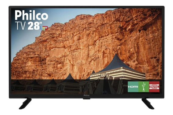 Tv Led Hd 28 Polegadas Philco Ptv28g50d Pix90