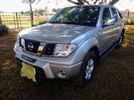 Nissan Frontier Turbo Dies 08 Completa 4x4 128 Milkm Prata