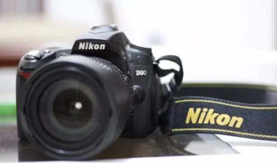 Câmera Nikon D90 - Câmera Profissional