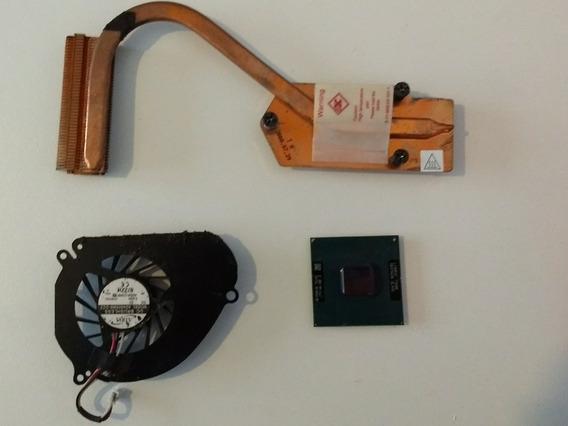 Processador Intel T3200 + Cooler E Dissipador Positivo Z80