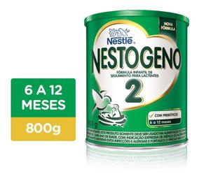 12 Latas Leite Nestogeno 2 800g - Super Promoção