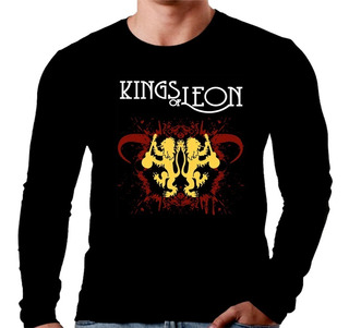 Camiseta Manga Longa King Of Leon Ref=565