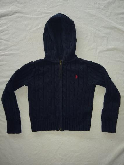 Saco Pullover Polo Ralph Lauren Niño Talle 4 Con Cierre