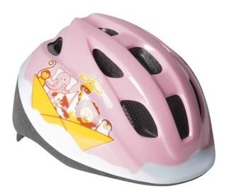 Capacete De Ciclismo Para Bebê Com Ajuste De Tamanho Rosa