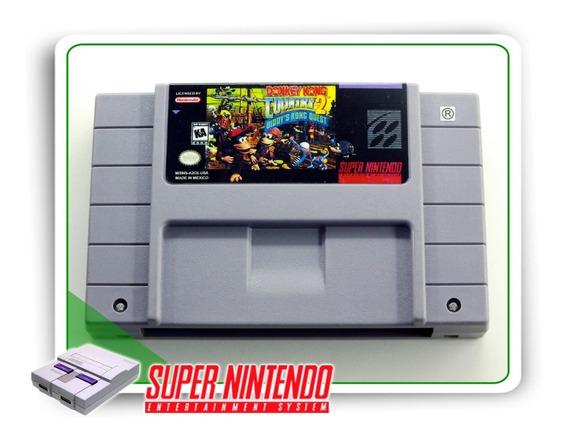 Donkey Kong Country 2 Original Super Nintendo Snes