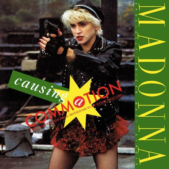 Madonna - Causing A Commotion - Single - Vinil