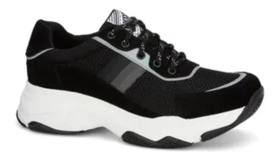 Tenis Aumentar Estatura 4.5 Cm Chunky Sneaker Hombre Ferrato