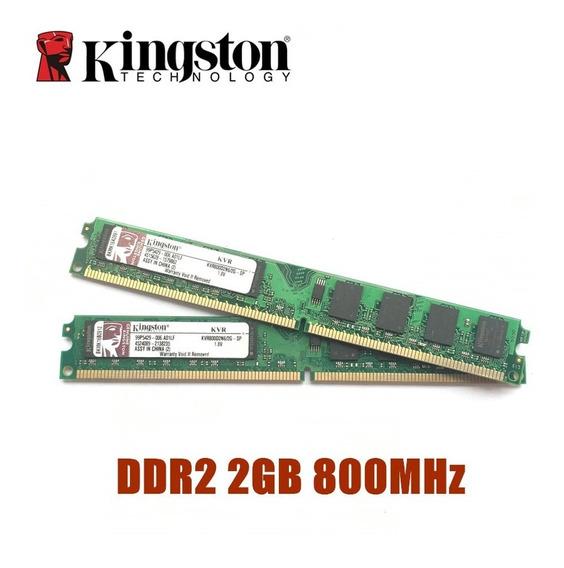 Memoria Ram 2gb Ddr2 800 Kingston Combo 4gb