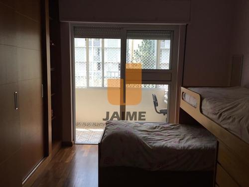 Apartamento Reformado 193m2, 3 Dts, 1 Suíte, 1 Vaga Em Higienópolis!!! - Bi4635