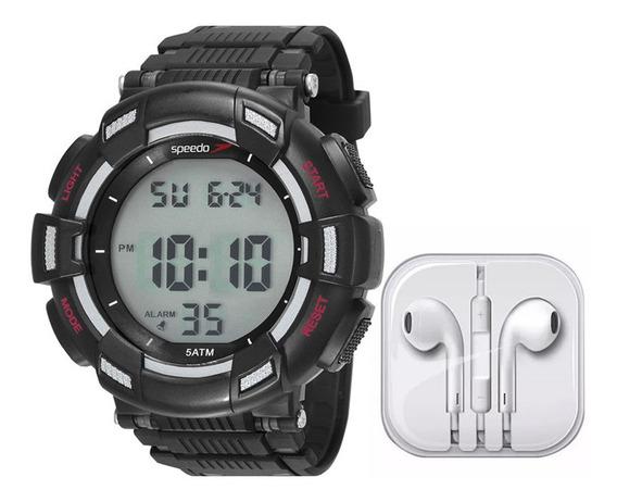 Kit Relógio Speedo Masculino 81183g0evnp2k1 C/ Garantia E Nf