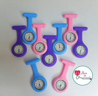 Reloj De Silicona Para Enfermeras Nurse Broche Prendedor