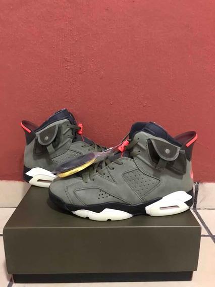 Sneakers Jordan 6 Retro Travis Scott 1.1 Ua Con Caja