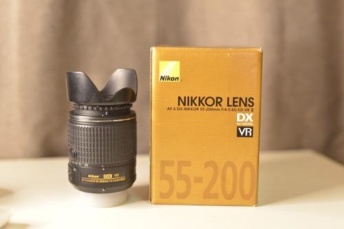 Lente 55-200mm F4-5.6 Nikon