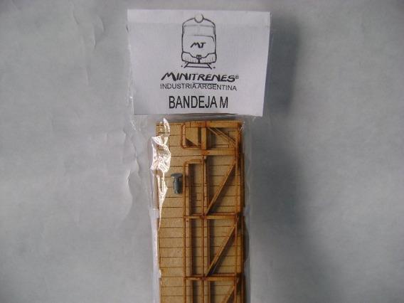 Nico Bandeja Autos Mitre Lat Ret Kit Fibrofacil H0 (mnt 16)