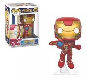 Funko Pop! Marvel:avengers Infinity War-iron Man+groot+thor