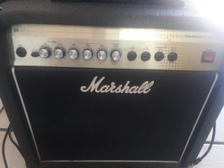 Marshall Valvestate Avt20x Hibrido Con Bulbo Y Reverb