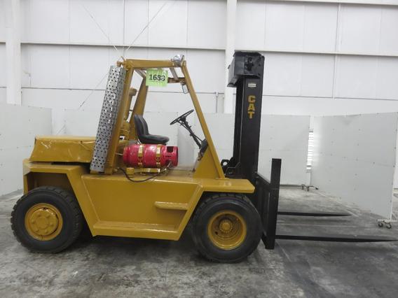 Montacargas Caterpillar 12000 Lb Gas Lp Modelo V120