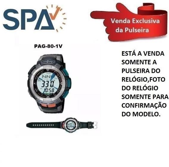 Pulseira Para O Casio Pag-80 100%original
