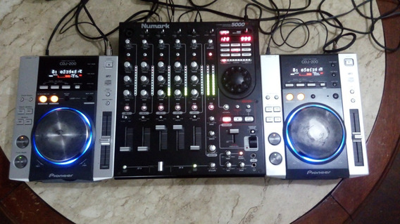 Cdj 200 (par)+mixer Numark Fx5000 + Case