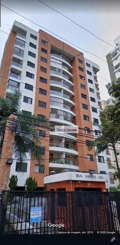 Apartamento Com 3 Dormitórios À Venda, 106 M² Por R$ 975.000,00 - Jardim Vila Mariana - São Paulo/sp - Ap2455