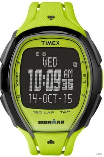 Timex Unisex Ironman Elegante 150 Tap Screen 100m Verde