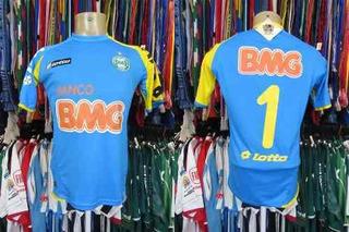 Coritiba 2011 Camisa De Goleiro Tamanho P Número 1.
