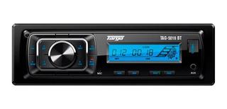 Autoestereo Bluetooth Mp3 Radio Targa (tag-5018bt)
