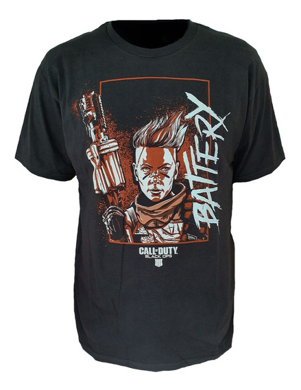 Playera Call Of Duty Black Ops 4 Battery Talla Ch Nueva