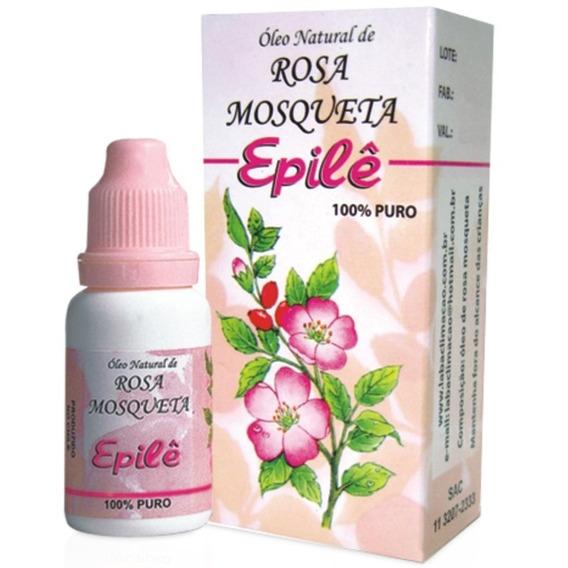 Oléo Epile Rosa Mosqueta Rugol Kit C/ 6un 10ml Envio Gratis