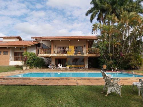 Imagem 1 de 30 de Excelente Chácara Com 5 Dormitórios, 3 Suites, À Venda, 5000 M² Por R$ 3.500.000 - Colinas Do Mosteiro De Itaici - Indaiatuba/sp - Ch0732