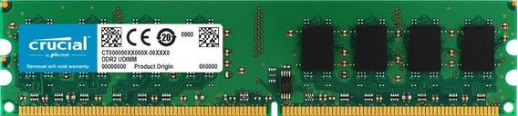 Memoria Ram 4gb Crucial Ct51264aa667 240-pin Dimm Ddr2 Pc2-5300 Module
