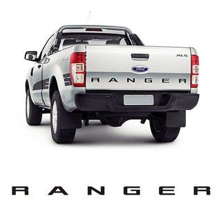 Faixa Traseira Ranger 2013/ Adesivo Preto Modelo Original