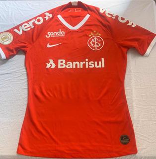 Camisa De Jogo Do Internacional Do Brasileiro 19 Do Atleta