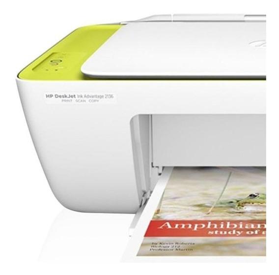 Impressora Deskjet Ink Advantage 2136 Hp