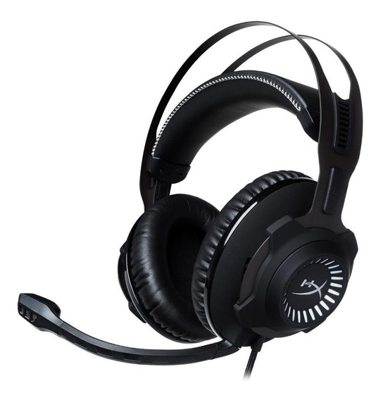 Headset Gamer Hyperx Cloud Revolver Preto / Cinza Hx-hscr-gm