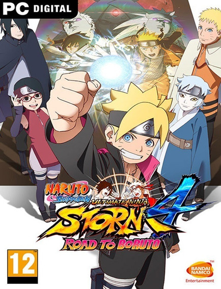Naruto Shippuden Ninja 4 Boruto Pc - Steam Key (envio Flash)