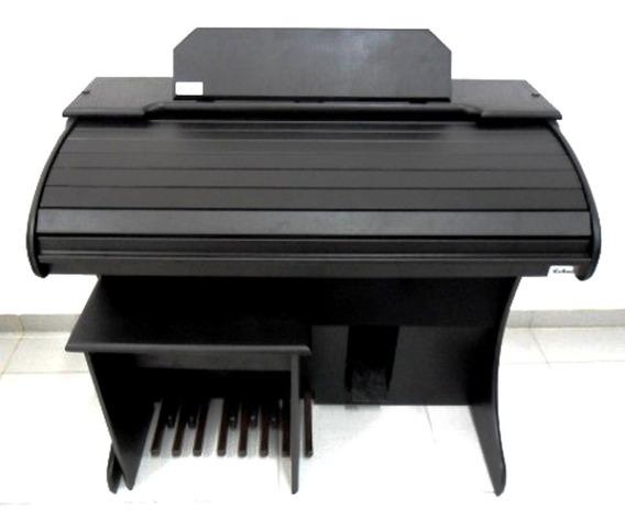 Orgão Eletrônico Rohnes Liz Plus Preto Fosco Promoção R1055