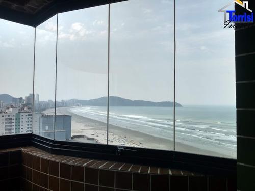 Imagem 1 de 30 de Apartamento Em Praia Grande, 03 Dormitórios, Vista Mar, Guilhermina, Ap02986 - Ap02986 - 70029952